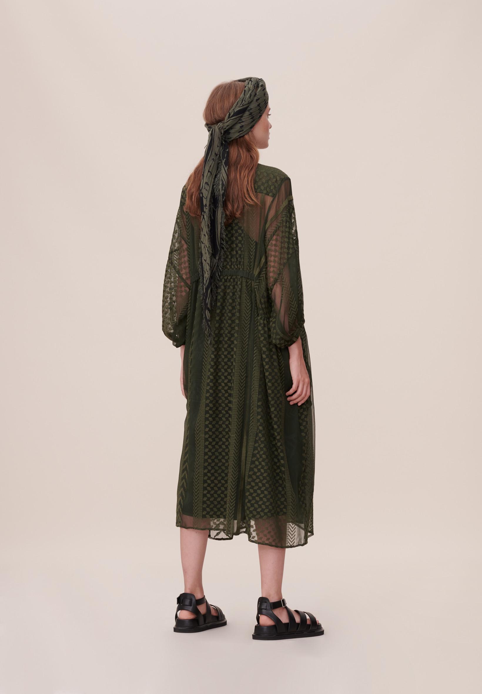 Fri Fragt over 499, ♥ Daly kjole grøn ♥ Lala Berlin
