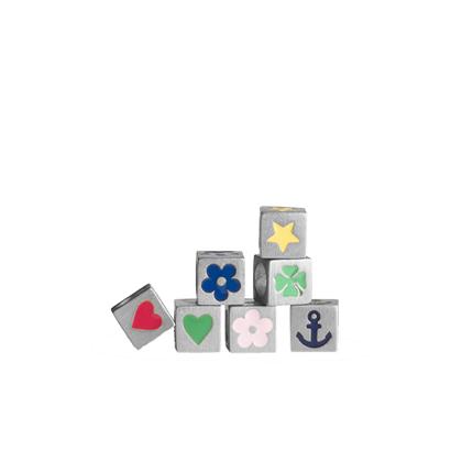 Jane Kønig firkløver Loveletter symbol i sølv