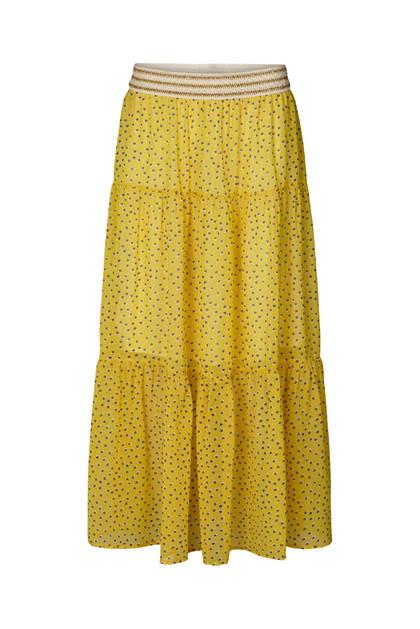 Lollys Laundry Bonny nederdel i gul