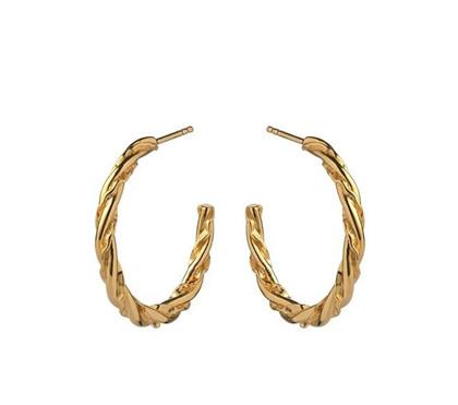 Maanesten Otalia ørering i guld