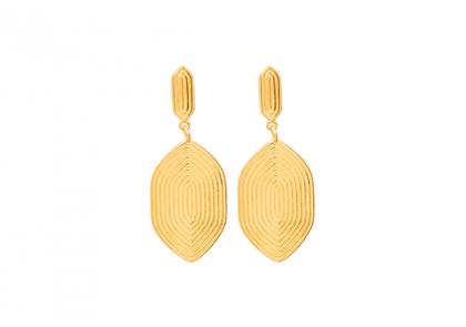 Louise Kragh Maze 0303 ørering i guld