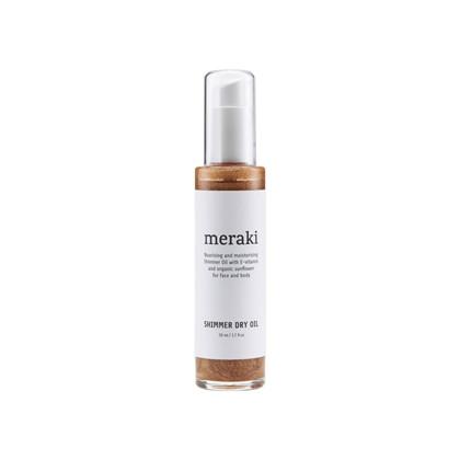 Meraki shimmer dry oil