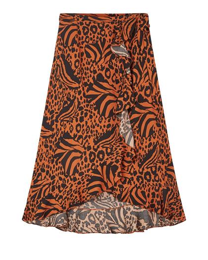 Moves by Minimum Florina nederdel i brændt orange