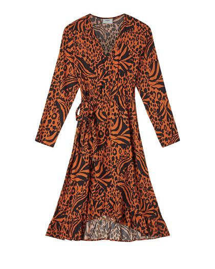 Moves by Minimum Nessa kjole i brændt orange