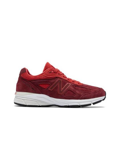 New Balance W990VT4 sneakers i rød