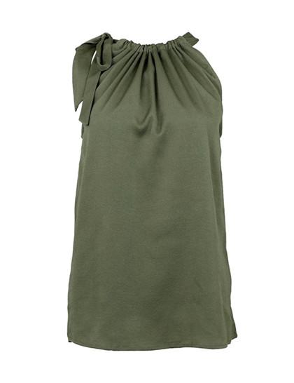 Neo Noir Linea Solid top i grøn