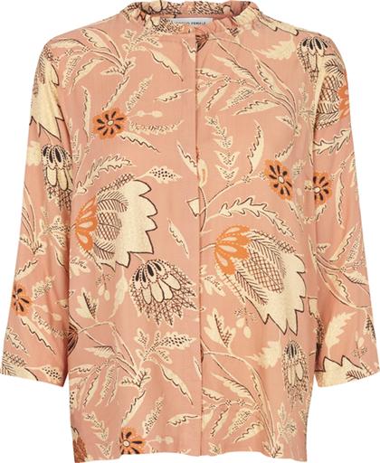 Second Female Fresco bluse i støvet rosa