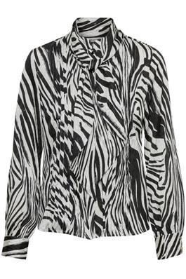 Gestuz Siwra Skjorte i zebra