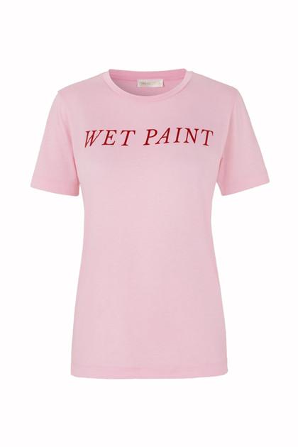 Stine Goya Milo Wet Paint T-shirt i pink