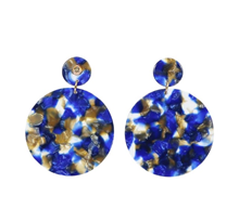 AYM Anca Barcelona blue earrings