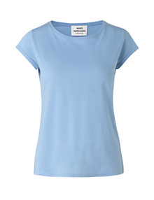 Mads Nørgaard Teasy t-shirt i lyseblå