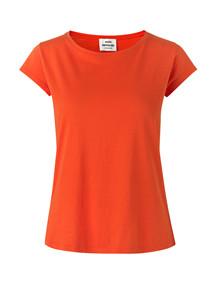 Mads Nørgaard Teasy t-shirt i orange