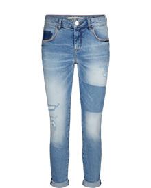 Mos Mosh Bradford Block jeans