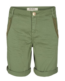 Mos Mosh Etta Shine Shorts i army