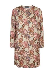 Mos Mosh Brisa Weave kjole i mønstret