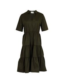 Neo Noir Jinna kjole i army