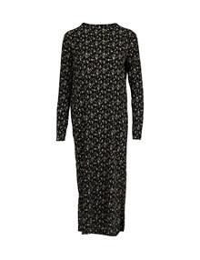 Neo Noir Vogue Flower kjole i sort