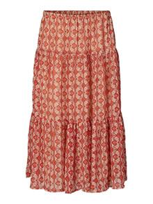 Lollys Laundry Morning nederdel i rød