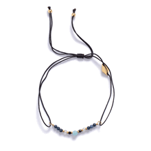 Anni Lu Marts Birthstone armbånd i lyseblå