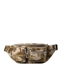 Treats Andrea Suede taske i camouflage