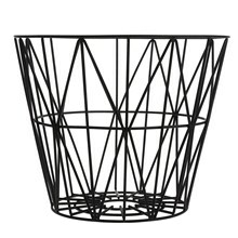 Ferm Living Wire Basket, large sort