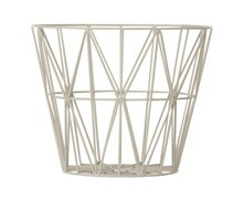 Ferm Living Wire Basket, large, grå