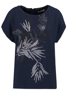 Garcia O80006 t-shirt i navy