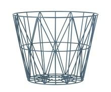 Ferm Living Wire Basket large blå