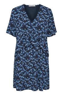 Gestuz Alyssa kjole i blå-sort