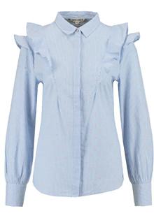 Garcia Jeans O80035 ladies skjorte i blå