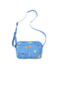 Ganni Fairmont lille taske i blå