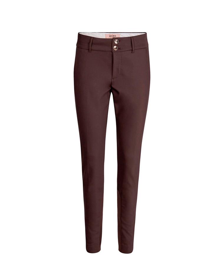 Mos Mosh Blake Night Sustainable bukser i brun