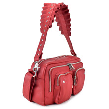Núnoo Alimakka ruffel taske i rød
