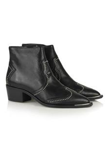 Billi Bi Bufalo støvle med nitter i sort