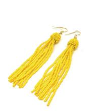 By Bram perle øreringe i gul