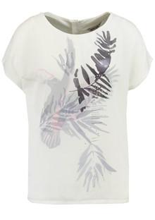 Garcia O80006 t-shirt i offwhite