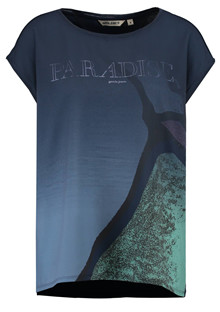 Garcia Paradise t-shirt i navy