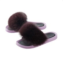 Oh! by Kopenhagen fur x H2O slipper i lilla