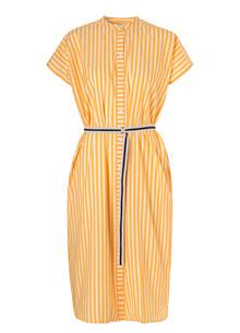 Becksøndergaard Casey long kjole i gul