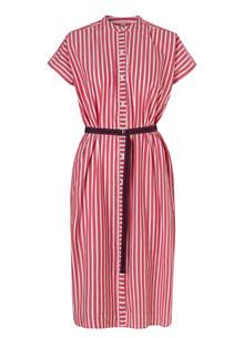 Becksøndergaard Casey long kjole i rød