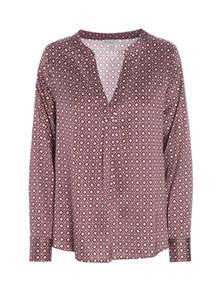 Dea Kudibal Santena silke bluse i lyserød