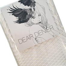 Dear Denier Pinar net strømpe i Hvid