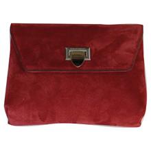 Decadent Cleva S 143 taske i rød ruskind