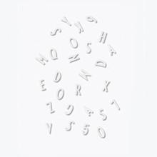 Design Letters bogstavs boks i hvid