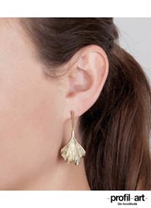 Dyrberg/Kern Tores øreringe i forgyldt stål