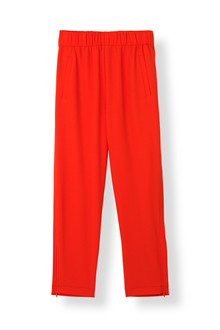 Ganni Clark F2552 bukser i rød