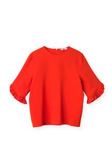 Ganni Clark bluse i rød