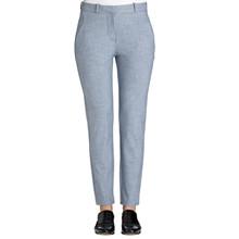 FIVEUNITS Kylie Crop bukser i lys blå