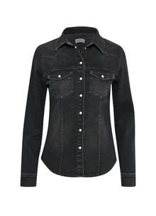 Gestuz Astrid denimskjorte i sort