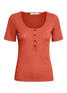 Gestuz Rollo T-shirt i orange